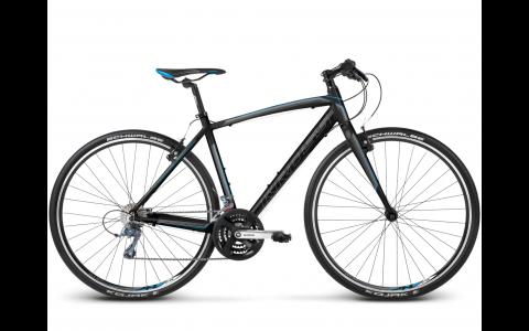 Bicicleta Kross Pulso 1, 28, L, 2017, negru-albastru