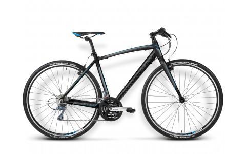 Bicicleta de Sosea, Kross, Pulso 1, 28 inch, 24 viteze, 2016, Negru-Albastru