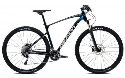 Bicicleta MTB, Devron, Riddle H6.9, Negru, Cadru Aluminiu
