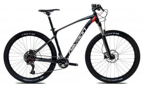 Bicicleta MTB, Devron, Riddle R7.7, Negru, Cadru Aluminiu