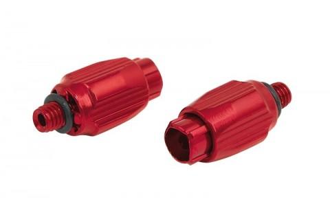 Reglaje Tensiune Cablu Schimbator, Force, Aluminiu, Rosu, 2 Bucati