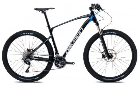 Bicicleta MTB, Devron, Riddle Men H6.7, Negru, Cadru Aluminiu