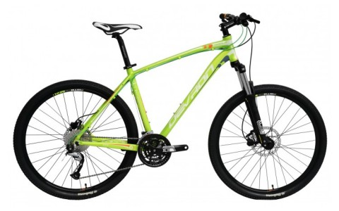 Bicicleta MTB Barbati, Dveron, Riddle Men H2.7, Cadru Aluminiu, 27 Viteze