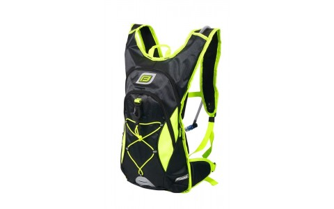 Rucsac, Force, Berry Pro Plus, 12l +2l, Negru-Fluorescent, Poliester