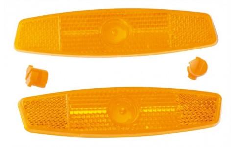 Set 2 Bucati Reflectorizante Roti, Force, 28x110 mm