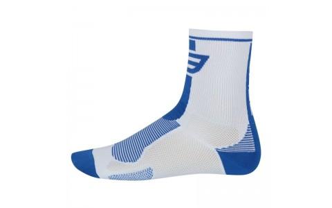 Sosete Force Long alb/albastru S-M