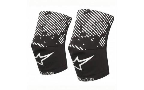 Sosete protectie genunchi Alpinestars MTB Knee Sock black/white XL/2XL
