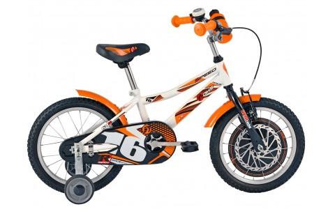 Bicicleta Baieti, DHS, 1601, Model 2017, 16 inch
