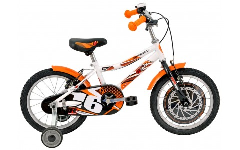 Bicicleta Baieti, DHS, 1603, Model 2017, 16 inch