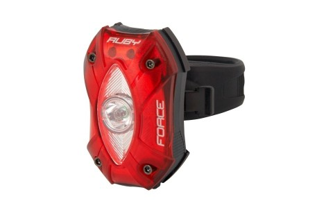 Stop Spate Bicicleta, Force, Ruby, USB, 55x36x30 mm