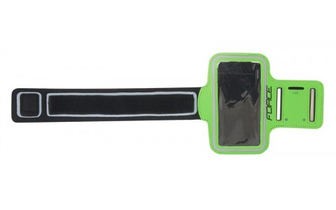 Suport Telefon Mobil, Force, Cu Prindere Pe Brat, Verde