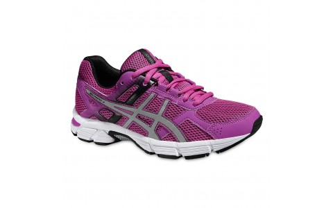 Pantofi Alergare, Asics, Gel-Essent 2, Cushioning, Roz-Argintiu, Femei