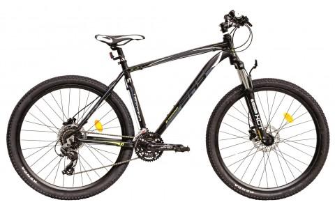 Bicicleta MTB, DHS TERRANA 2727 (2016), 27,5 inch, Gri-alb, 495mm