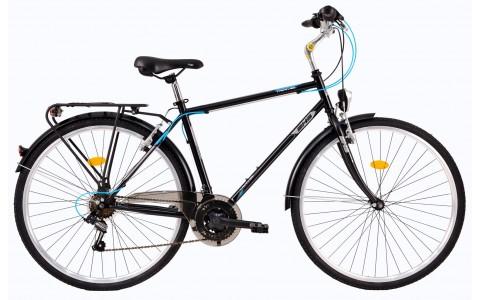 Bicicleta Trekking Pentru Barbati, DHS, Travel 2851, Model 2017, 28 inch