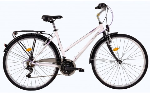 Bicicleta Trekking Pentru Femei, DHS, Travel 2852, Model 2017, 28 inch