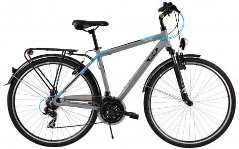 Bicicleta Trekking Pentru Barbati, DHS, Travel 2855, Model 2017, 28 inch