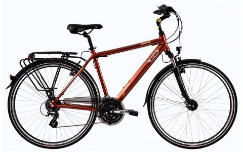 Bicicleta Trekking Pentru Barbati, DHS, Travel 2857, Model 2017, 28 inch