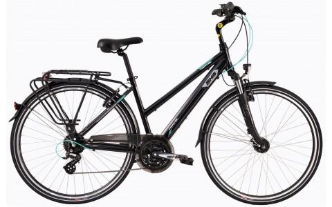 Bicicleta Trekking Pentru Femei, DHS, Travel 2858, Model 2017, 28 inch