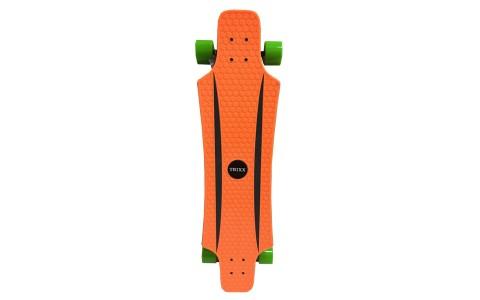 Longboard Axer, Trixx, 91x21x11cm, portocaliu