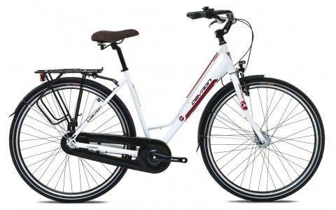Bicicleta Oras Femei, Devron, Urbio LC1.8, Cadru Aluminiu, Alb