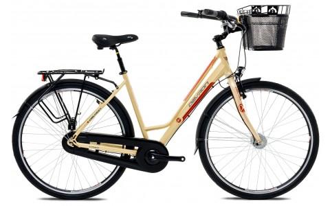 Bicicleta Oras Femei, Devron, Urbio LC2.8, Cadru Aluminiu, Vanilla Brown