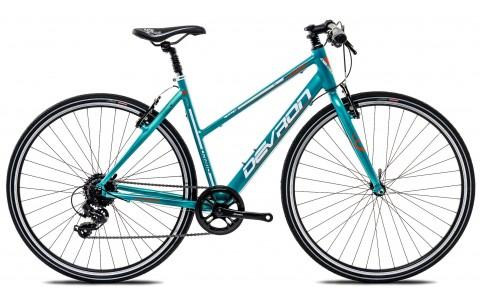 Bicicleta Oras Femei, Devron, Urbio LU1.8, Cadru Aluminiu, Janta 28 inch