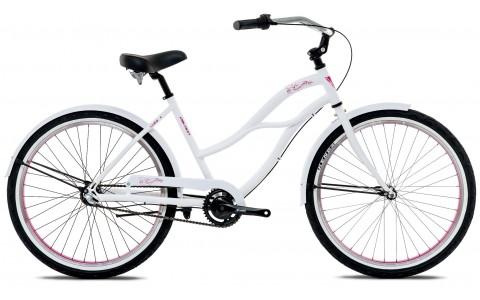 Bicicleta Oras, Cruiser, Dama, Devron, Urbio U2.6, Alb, Cadru Aluminiu, Janta 26 inch