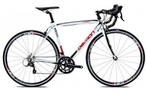 Bicicleta Road Race, Devron, Urbio R2.8, Alb, Cadru Aluminiu