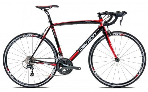 Bicicleta Road Race, Devron, Urbio R4.8, Negru, Cadru Aluminiu