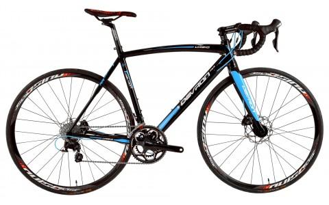 Bicicleta Road Race, Devron, Urbio R6.8, Negru, Cadru Aluminiu