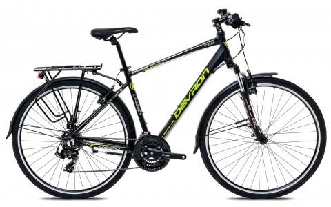 Bicicleta Oras, Touring, Devron, Urbio T1.8, Negru, Cadru Aluminiu, Jante 28 inch