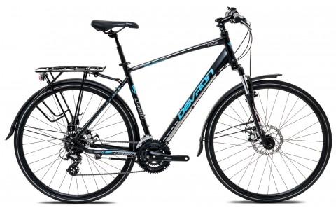 Bicicleta Oras, Touring, Devron, Urbio T2.8, Negru, Cadru Aluminiu, Jante 28 inch