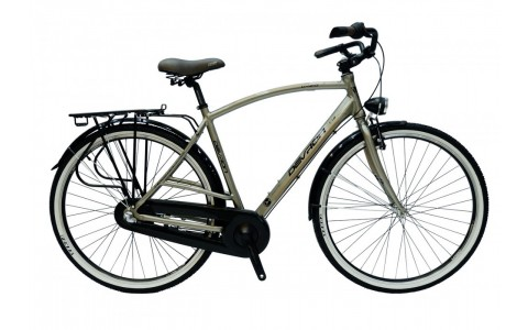 Bicicleta Oras pentru Barbati, Devron, City Men C1.8, Cadru Aluminiu, 3 Viteze