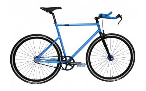 Bicicleta Oras, Fixed gear, Devron, Urbio FX0.8, Laguna Blue, Cadru Aluminiu