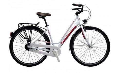 Bicicleta Oras pentru Femei, Devron, City Lady LC1.8, Cadru Aluminiu, Janta 28 inch