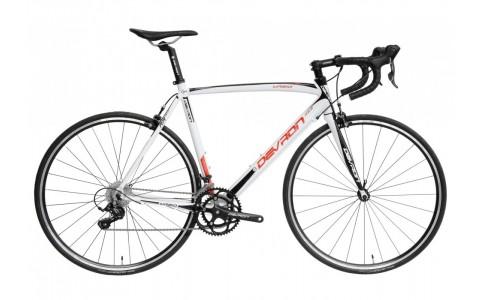 Bicicleta Oras, Devron, Urbio R2.8, Alb-Rosu, Cadru Aluminiu, 18 Viteze