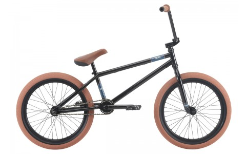 Bicicleta BMX HARO Midway 21 negru lucios 2018