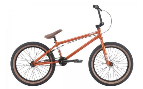 Bicicleta BMX HARO Boulevard cupru lucios 20.5 2018