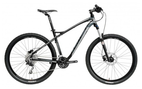 Bicicleta MTB, Devron, Zerga D4.7, Negru-Gri, Cadru Aluminiu, Jante 27.5 inch