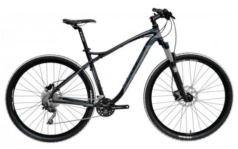 Bicicleta MTB, Devron, Zerga D4.9, Negru-Gri, Cadru Aluminiu, Jante 29 Inch