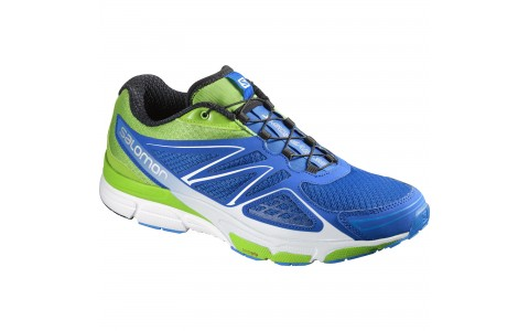Pantofi Alergare, X-SCREAM 3D, Salomon, Barbati, Albastru-Verde