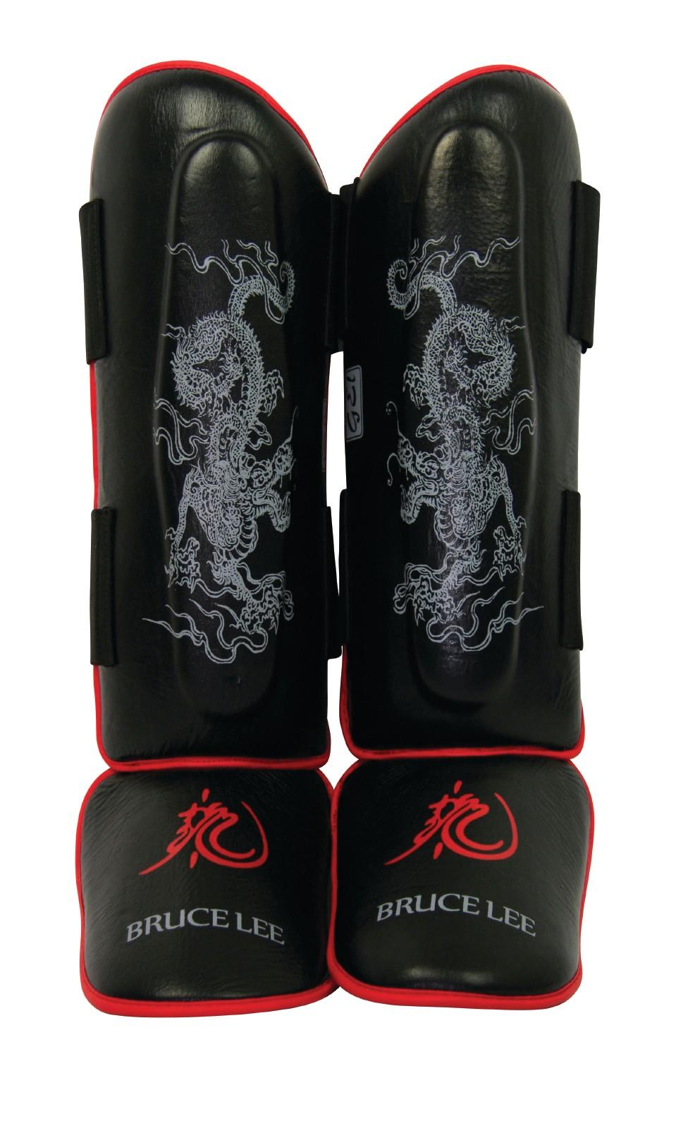 Tibiere, Tunturi, Bruce Lee Dragon, L/xl, Negru-rosu