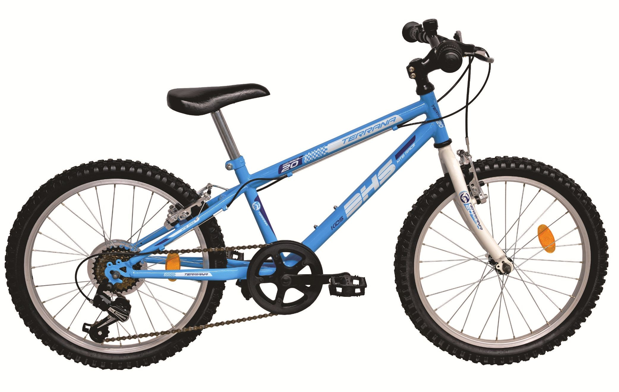 Bicicleta Copii, Dhs, Terrana, 2021 (2016), Cadru Mtb Otel