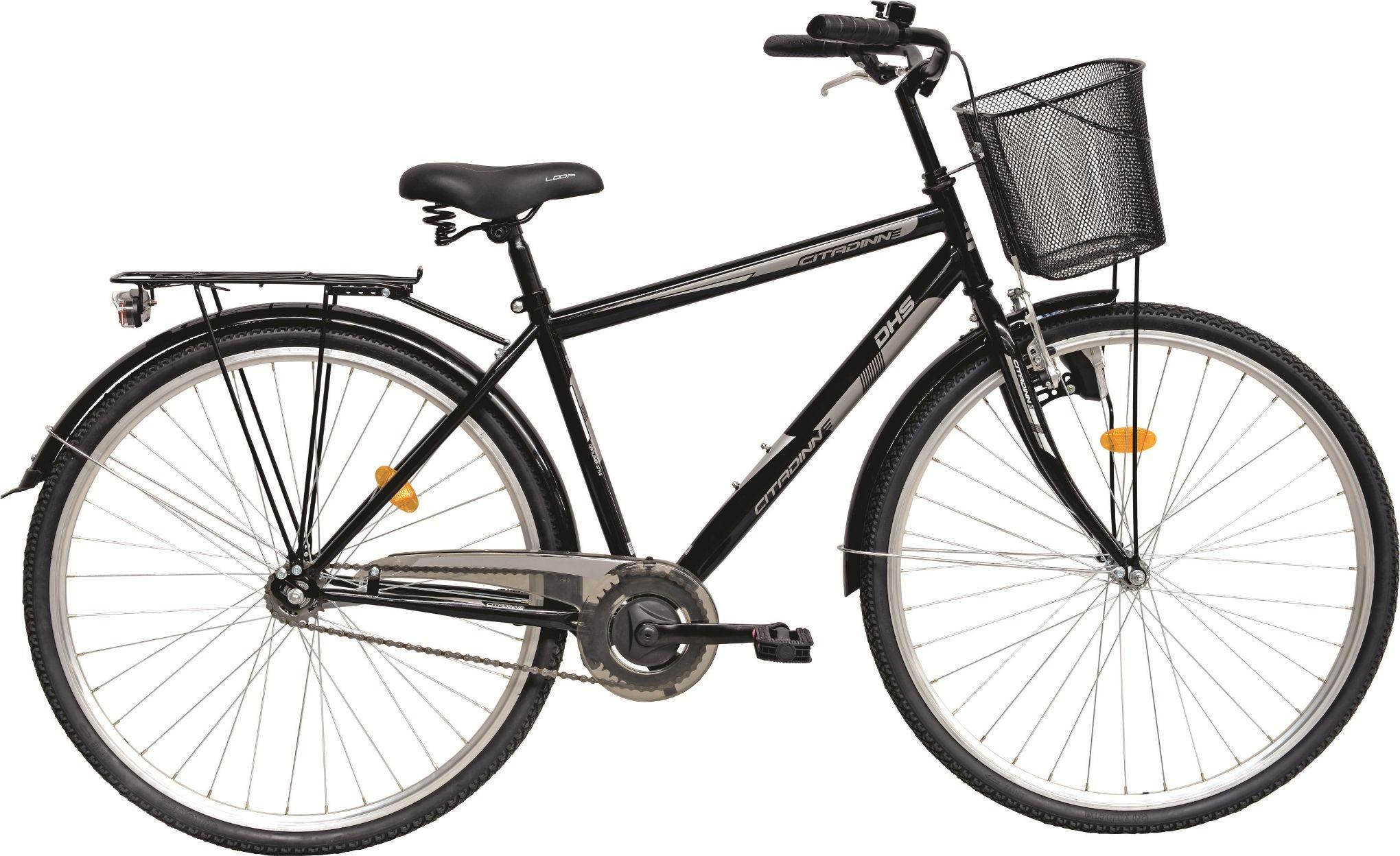 Bicicleta Oras, Dhs, Citadinne 2831 (2016), Negru, Jante 28 Inch