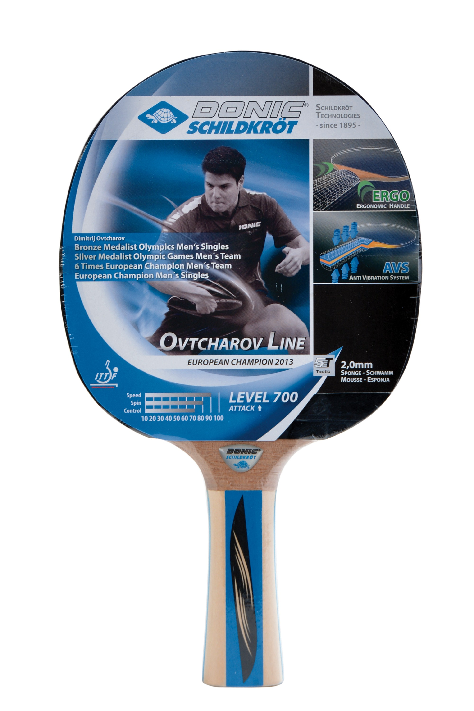 Paleta Tenis De Masa  Donic  Champion Ovtcharov Line  Level 700  Cocav Atac