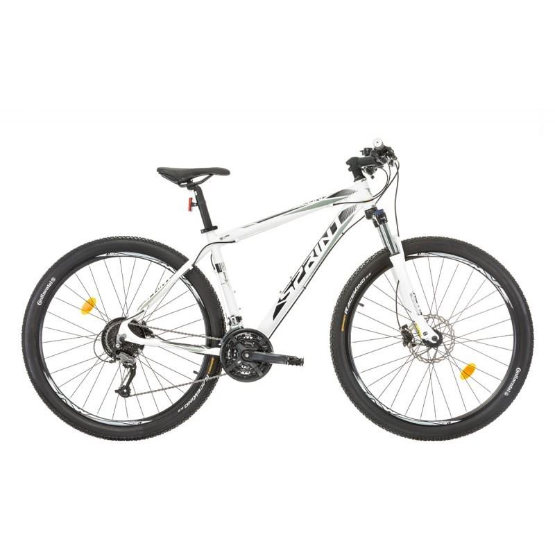 Bicicleta Sprint Apolon 29 Hdb Alb Mat 2017-480 Mm