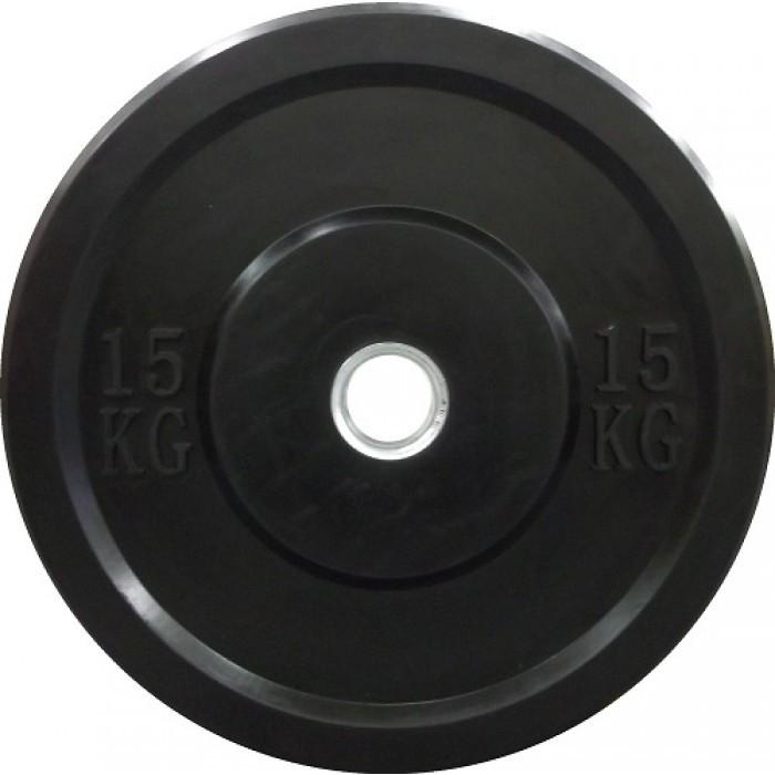 Disc Olimpic Crossfit Din Fonta Cauciucata, Dayu Fitness, 15 Kg