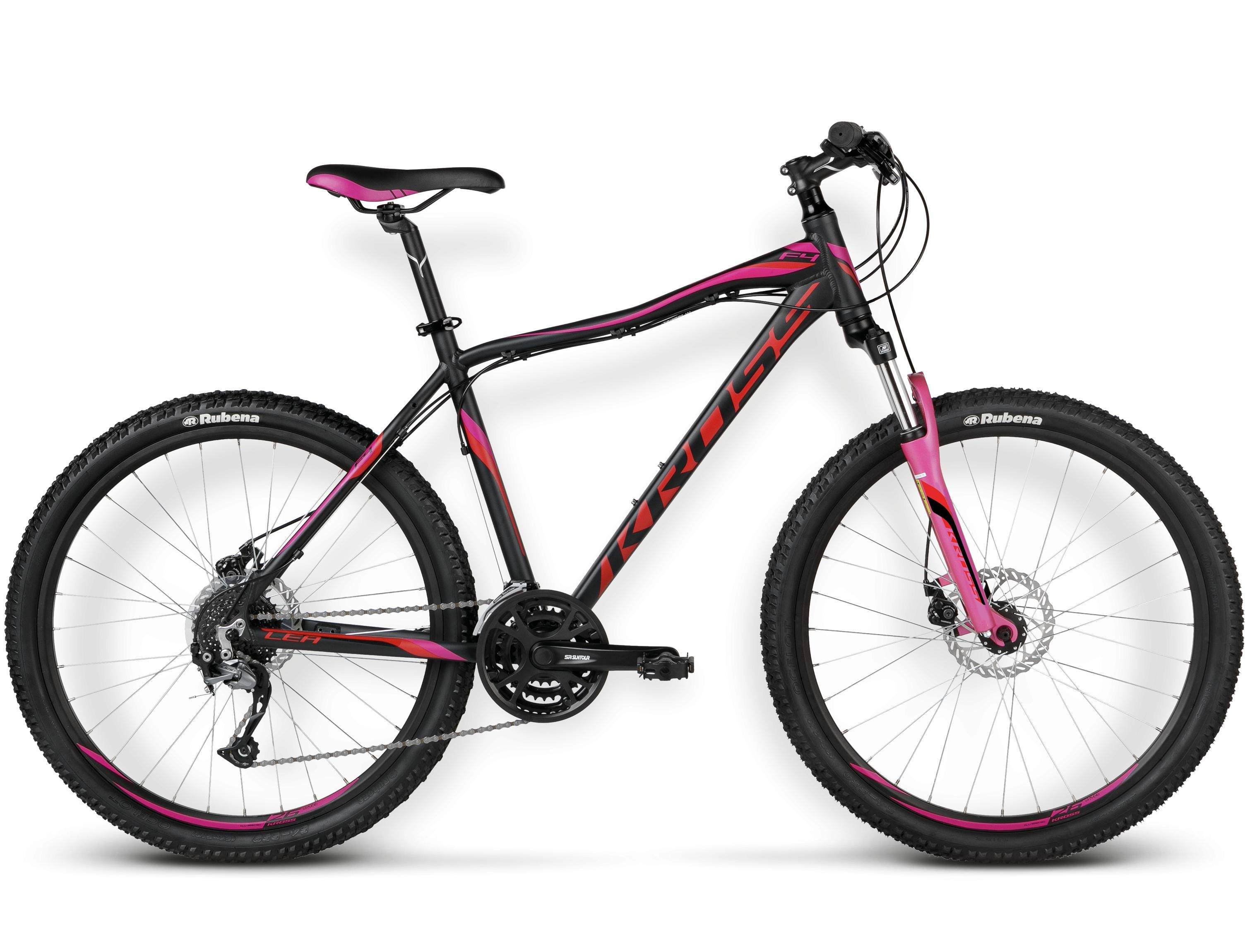 Bicicleta Mtb  Kross  Lea F4  26x2.1 Inch  Negru-r