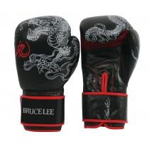 Manusi Box, Tunturi, Bruce Lee Dragon, 14 OZ, Negru-Rosu