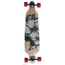 Longboard, Spartan, Surfer Black, 42 inch, ABEC 7, 105x24.3 cm
